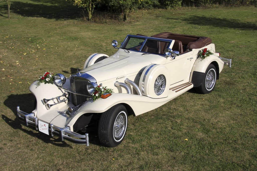 Traumauto für Ihre Hochzeit