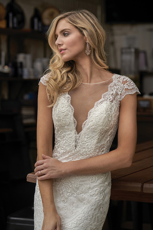 Verträumtes Brautkleid