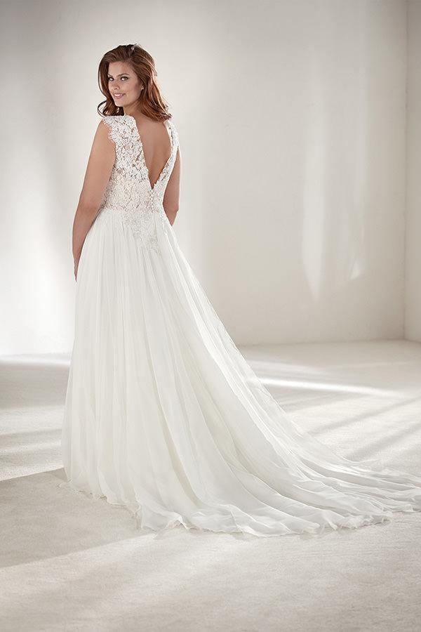 Weisses Brautkleid